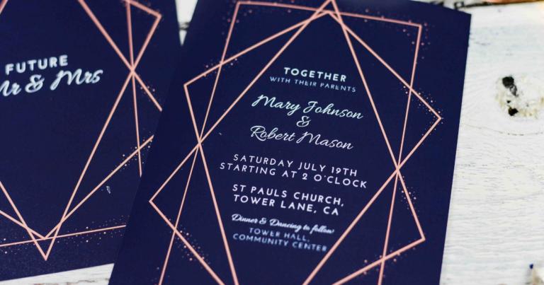 Wedding Invitation Format and Templates